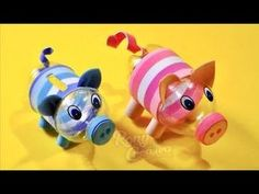 banking haircut banking haircut DIY Piggy Bank from Plastic Bottle / Alcanca hecha con botella de plstico Plastic Bottle Crafts, Plastic Bottles, Pig Crafts, Diy And Crafts, Diy For Kids, Crafts For Kids, Christmas Activities For Kids, Recycled Crafts, Diy Art