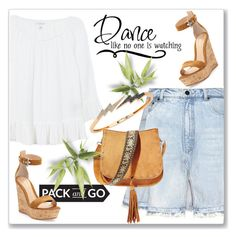 """""""Pack and Go: Labor Day"""" by andrejae ❤ liked on Polyvore featuring Velvet, Alexander Wang, Gianvito Rossi, Bee Goddess, Steve Madden and Packandgo"""