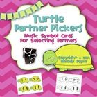 Turtle Partner Picker cards will help your students choose partners for games and activities in group lessons, camps, and in the music classroom by...