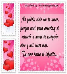 frases y mensajes románticos,enviar originales mensajes de amor:http://www.consejosgratis.es/poemas-de-amor/