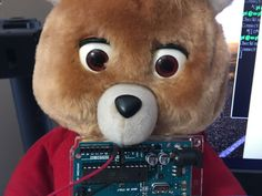 You can't unsee Tedlexa, the Internet of Things/AI bear of your nightmares; A Teddy Ruxpin + an Arduino + a Raspberry Pi + Amazon Alexa = What could go wrong?