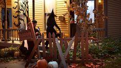 Halloween Graveyard Gate ( oct 2015 )
