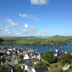 Beautiful evening in sunny #Salcombe #holiday #Devon