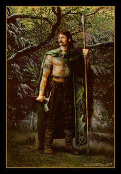 Celtic Art: Celtic Mythology; The Realistic Celtic Art work and illustrations of Celtic myth & legend by Howard David Johnson Cuchulainn, chief hero of the Ultonians