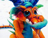 OOAK Commissioned Water Goblin Needle Felted by TangleWoodThicket