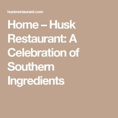 4 stars - Husk Restaurant: A Celebration of Southern Ingredients | hand-ground bacon-and-brisket mix cheeseburger