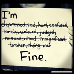 The World Federation of Mental Health, World Mental Health Day will be on October The objective is to help raise psychological well-being awareness. Im Hurt Quotes, Lying Quotes, Truth Hurts, It Hurts, Happy Quotes, Positive Quotes, Horror Quotes, Im Depressed, Frases