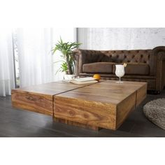 Furniture Online - Buy Wellesley Low Height Solid Coffee Table Made in Sheesham Wood & Finish in Sheesham Natural Solid Wood Furniture, Online Furniture, Furniture, Table, Home, Interior, Solid Coffee Table, Coffee Table, Home Decor