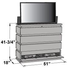 technical spec technical spec technical spec tv lift cabinet