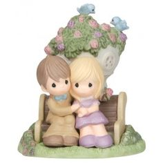 Hope Brought Us The Blessings Of Love - Anniversary - Figurines - Precious Moments