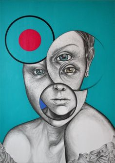 Spanish eyes, Acrylic painting by andy butler | Artfinder
