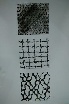 Black and white pattern/printing
