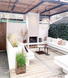Outdoor Lounge, Outdoor Areas, Outdoor Living, Outdoor Decor, Dream Garden, Home And Garden, Dutch Gardens, Garden Stairs, Backyard Garden Design