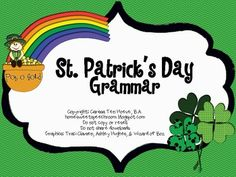 St. Patrick's Day Grammar Packet
