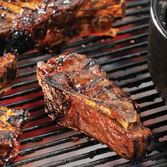 Barbecued Country-Style Pork Ribs - The Pampered Chef® Rib Recipes, Grilling Recipes, Cooking Recipes, Cooking Tips, Smoker Recipes, Steak Recipes, Bbq Ribs, Bbq Pork, Cooking On The Grill