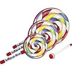 "11.98, 8 "" Music & Arts Remo Lollipop Drum"