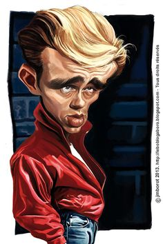 James Dean.. he's from my hometown, went to the same school too!  Woo hooo!