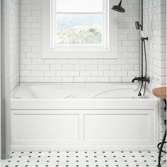 Jacuzzi® Cetra Pure Left-Hand x Drop in Air Bathtub Finish: White Drop In Bathtub, Jacuzzi Bathtub, Soaking Bathtubs, Whirlpool Bathtub, Clean Bathtub, Bathtub Tray, Bathroom Renos, Bathroom Interior, Bathroom Tubs