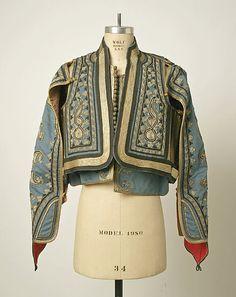 Turkish Fashion, Ethnic Fashion, Matador Costume, Military Costumes, Fashion Details, Fashion Design, Sewing Art, Folk Costume, Character Outfits