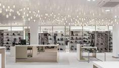 retail design - lighting, shape, pattern