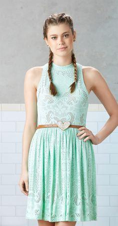 Só na Antix Store você encontra Vestido Rede de Renda com exclusividade na internet