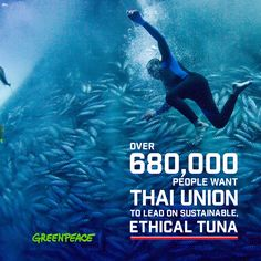 GreenpeaceVerified account @Greenpeace  3m3 minutes ago  More   The power of your voice and 680,000 people around the world can protect our oceans!