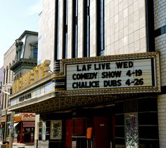 Lafayette Theater in Downtown Lafayette, Indiana. We went every Sunday after church!