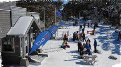 Mount Baw Baw Alpine Resort in Victoria. The closest ski resort to Melbourne #snowaus