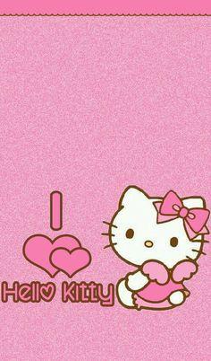 Image via We Heart It https://weheartit.com/entry/145180541/via/22479432 #cute #hellokitty #pink #wallpaper