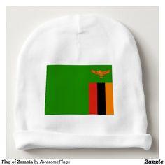 Flag of Zambia Baby Beanie
