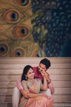 Nivedita X Dhruvva Shot by Vijay Eesam Indian Wedding Poses, Indian Wedding Couple Photography, Pre Wedding Poses, Couple Photography Poses, Bridal Photography, Photo Poses For Couples, Couple Photoshoot Poses, Wedding Photoshoot, Wedding Pics
