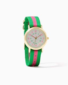 charming charlie | Candy Striped Watch | UPC: 410007310376 #charmingcharlie