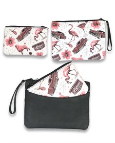 VEGAS TWO IN ONE CLUTCH BAG