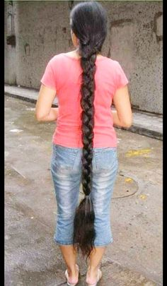 Thick braid   Hairs   Pinterest   Thick braid  Long braids and     Find this Pin and more on Thick long hair by Akshit Kalra