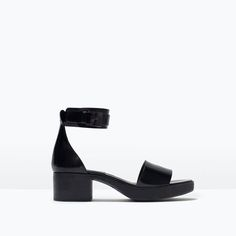 Image 1 of ANKLE-STRAP SANDALS from Zara