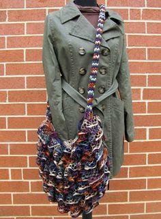 Very cute purse using sashay yarn