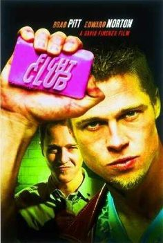 Fight Club | David Fincher | 1999 | Starring Brad Pritt and Edward Norton | 8.9 on IMDB | First rule of Fight Club is you do not talk about Fight Club. After watching this movie you will understand. Edward Norton and Bratt Pitt are playing their roles superb.