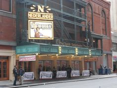Nederlander Theater, New York City, NY personally my favourite broadway theater ;)