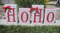 Ho Ho Christmas Blocks