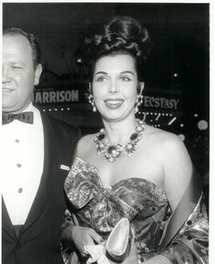 Vintage Costume Jewelry Love | Ann Miller wearing her couture Balenciaga Jewelry Set