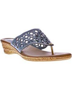 Spring Step Womens Amerena Wedge Sandals