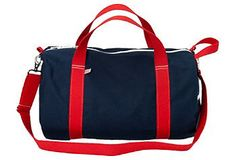 on sale at One Kings Lane. perfect manly duffel, for valentines?