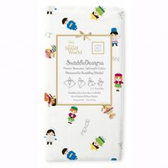 Disney It's A Small World Children of the World Marquisette Swaddling Blanket® by SwaddleDesigns