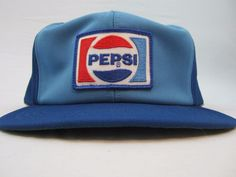 6134334d39a Pepsi Blue Baseball Hat Special Snapback Cap Memorabilia Merchandise  Pre-Owned  PepsiCola Pepsi Cola