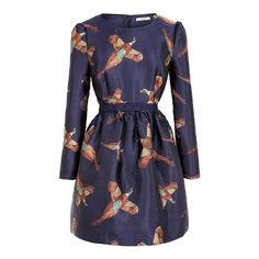 Rayton Dress. I am obsessed with this pheasant dress by Jack Willis!! #holiday #style