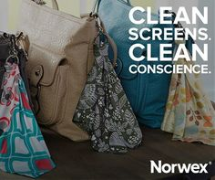 The Optic Scarf doubles as an eyeglass cleaner and cell phone buffer. This reusable microfiber cloth removes fingerprints, oil, dust, and dirt from eyeglasses, electronic devices and even jewelry — and it's part of our September Host Special! http://norwex.biz/en_US/shop/product-detail/42203. What's your favorite gadget to clean with it?