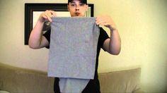 Super Fast T-Shirt Fold (Standing)