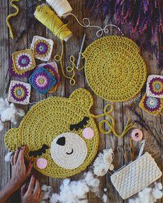 Tutorial Punto Concha a Tricot Crochet Blanket Edging, Crochet Cushions, Crochet Pillow, Crochet Squares, Crochet Carpet, Crochet Home, Crochet Gifts, Crochet Yarn, Crochet Doll Pattern