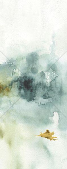 My Greenhouse Watercolor 4 - Tapetit / tapetti - Photowall