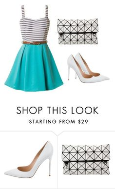 """""""Untitled #4"""" by ftowm ❤ liked on Polyvore featuring beauty and Gianvito Rossi"""